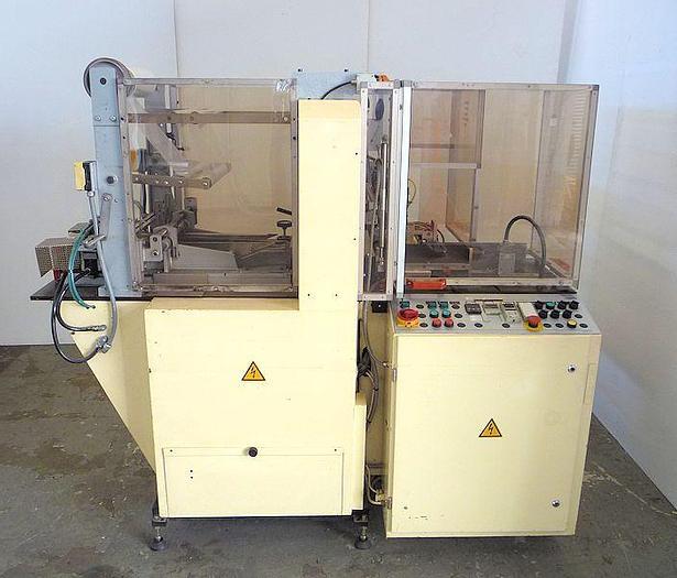 Used O 12502 E - Overwrapper SOLLAS 17-H100 with Carton Collator
