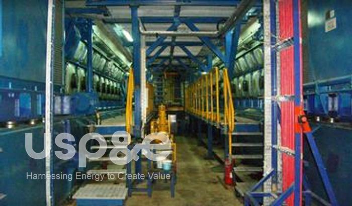 Used 70 MW Used Wartsila 20V34SG Natural Gas Generator