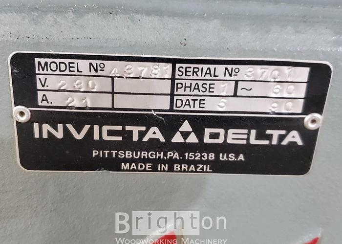 1990 Delta RS15 Shaper