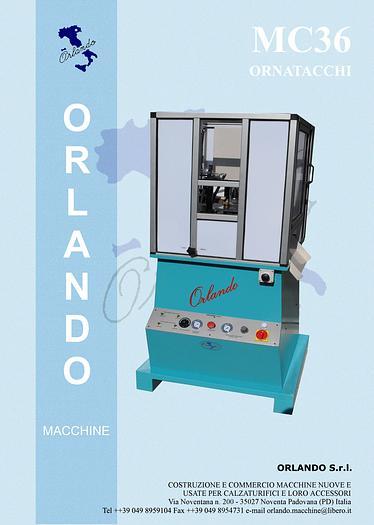 MC36 - ORNATACCHI / HEEL DECORING MACHINE