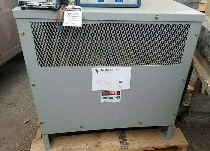 Used Neeltran 75 KVA 3 Phase Saturable Reactor DC Transformer