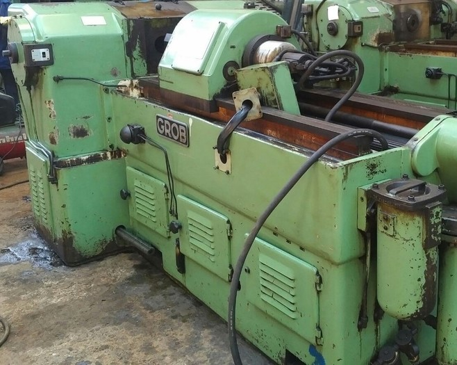 GROB ZRM9 COLD SPLINE ROLLING MACHINE
