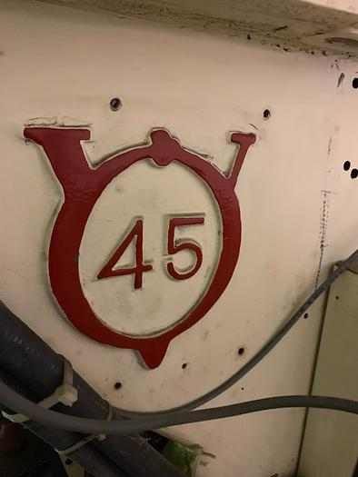 "V&O MODEL 45 ""SUPER T"" HIGH SPEED O.B.I. PRESS"