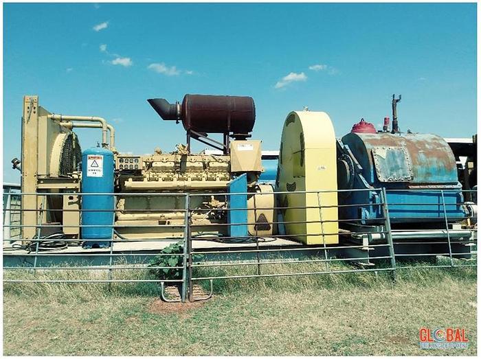 Used Item 0640 : Gardner Denver PZ10 Mud Pump