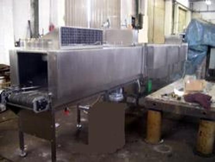 Używane 2-rzędowy zespół myjąco-osuszający do opakowań zamkniętych - urządzenie nowe