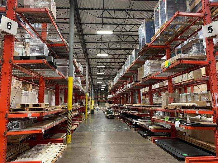 Used Pallet Racking Cantilever