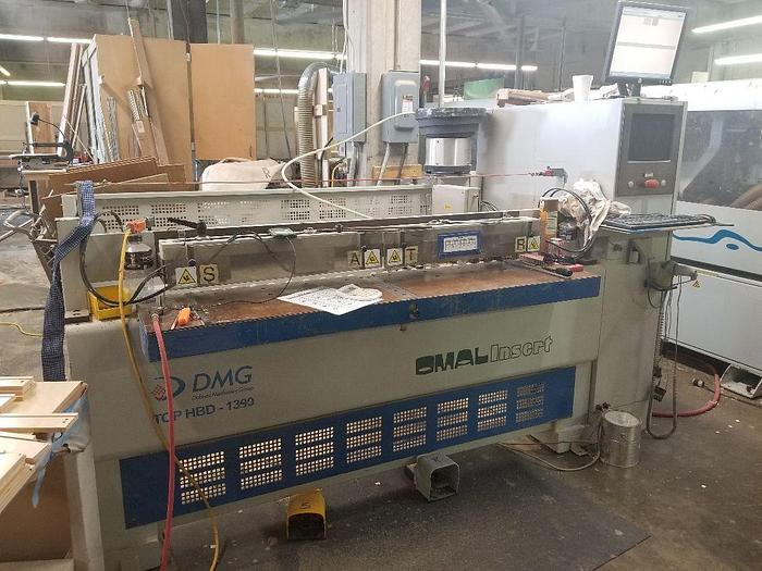 Used Omal TOP HBD 1390 Dowel and Glue Insertion Machine - New Price!