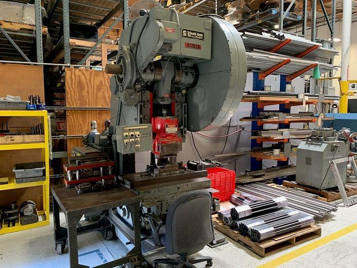 Used 1981 80 Ton Southbend Johnson OBI Press