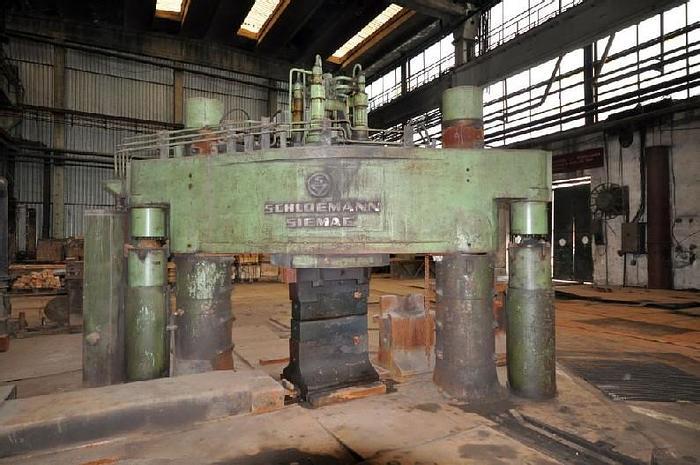 Used Press Forging Open Die Hydraulic