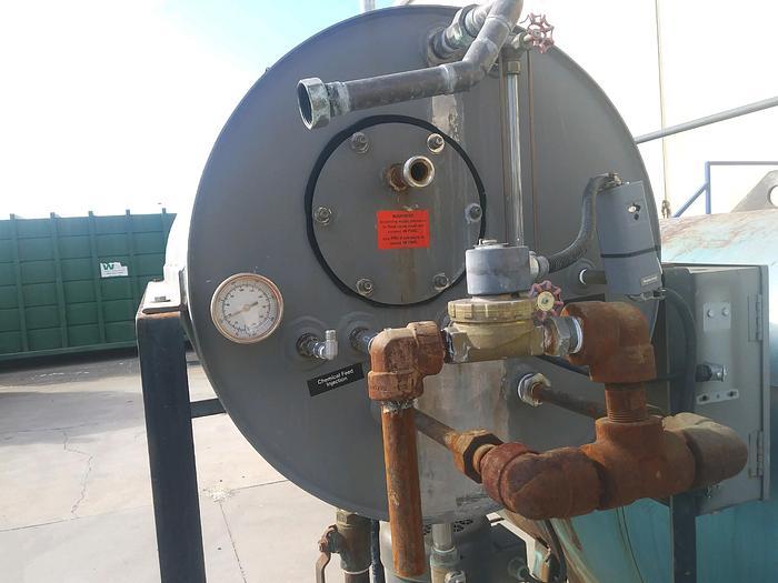 1982 Cleaver Brooks  CB 700-100  HP 100 150 PSI Steam Boiler  CB 700-100