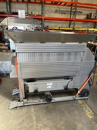 Used CMA Stainless Steel Destemmer