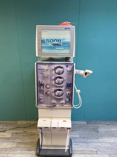 Gebraucht Fresenius 5008 Cordiax Dialysegerät 40843h software Version V4.58