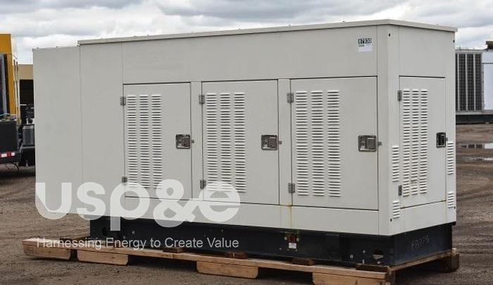 Used 0.25 MW 2020 Used Olympian G250LG2 Natural Gas Generator