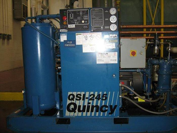 Used 1994 Quincy 50HP compressor (2)