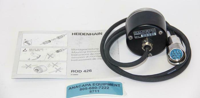 Used Heidenhain ROD 426 B 2500 Encoder 251-681-02 (8711)W