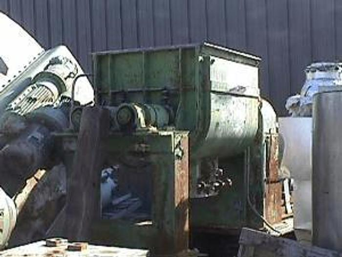 Used 100 GALLON TELEDYNE READCO SIGMA BLADE MIXER – S/S – JACKETED