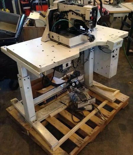 Used Used Juki AMS-210C Electronic Direct Drive Programmable Pattern Tacker Repair