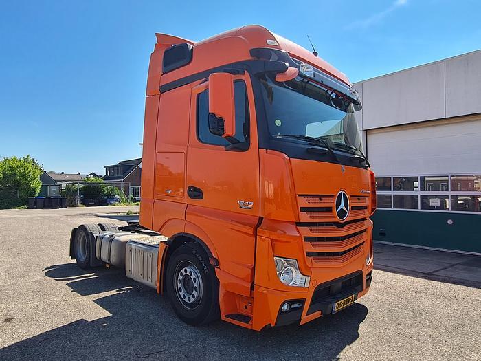 Used Mercedes-Benz Actros 1845 / Euro 5 / Mega / 4x2 / APK: 26-06-2022