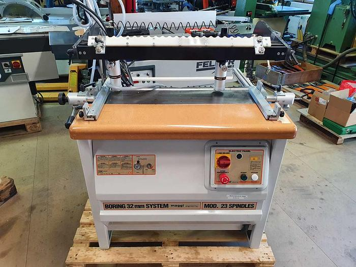 1998 MAGGI Single-head Boring Machine for Horizontal and Vertical Drilling mod. BORING-SYSTEM 23 TOP