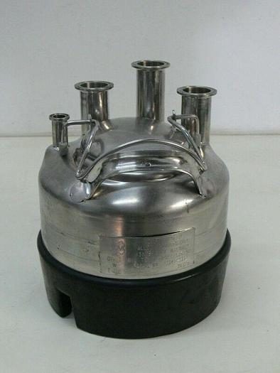 Used Alloy Products Stainless Steel Pressure Vessel 135 PSI Max Water Pressure