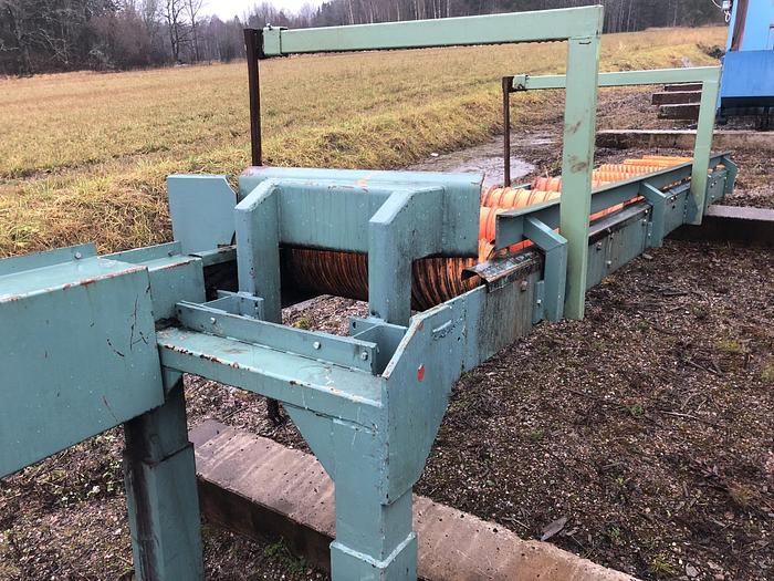 Used Roller conveyor for lumber