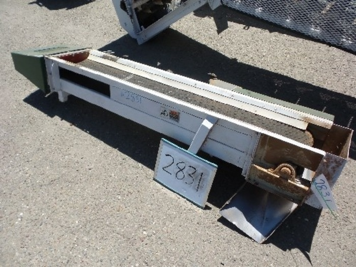 Mid State Conveyor Belt 12'' Wide x 7' Long #2831