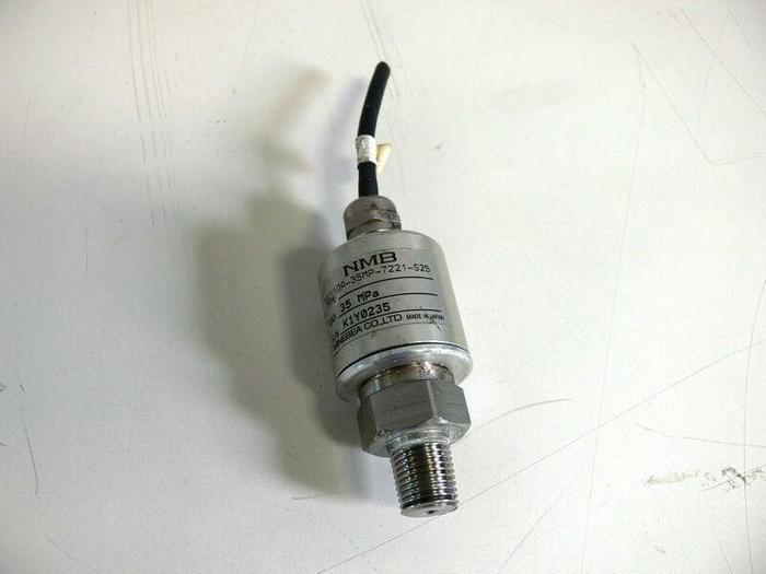 Used Minebea NS110A-35MP-7221-S25 35MPa 5075 PSI Pressure Transducer