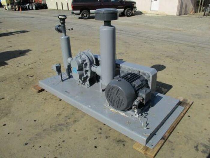 ROOTS DRESSER MODEL 65 U-RAI 25 HP ROTARY LOBE BLOWER