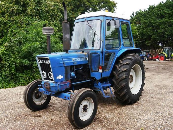 Used Ford 7600 2wd Tractor