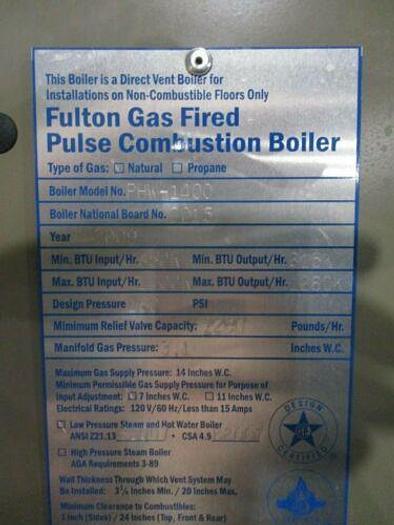 Fulton PHW-1400