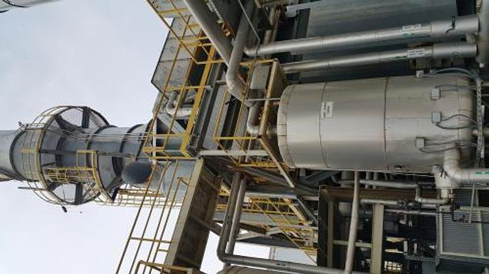 60.0 MW 2010 GE LM6000 PC Natural Gas Turbine Generator