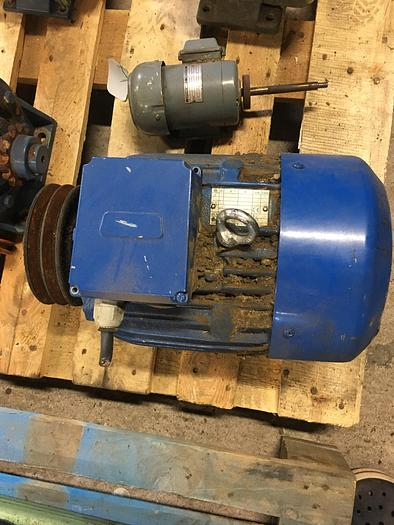 Used BEVI electric motor 5,5 kW 1450 r/m