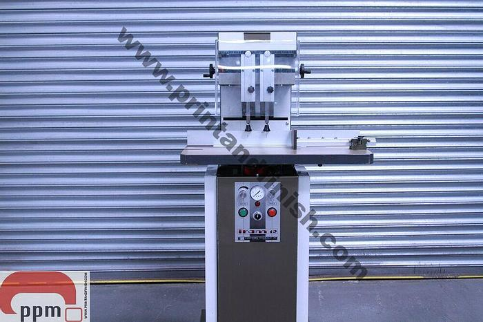 Used IRAM 12 Two Head Paper Drill