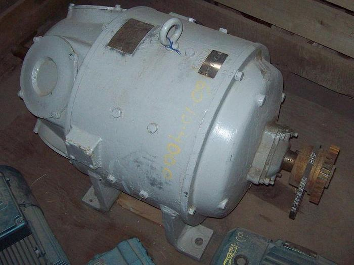 Used 15 HP Reliance DC Motor