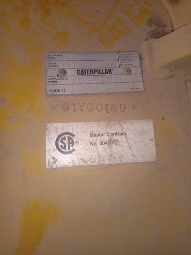 2011 CATERPILLAR 3516B 2000 KVA