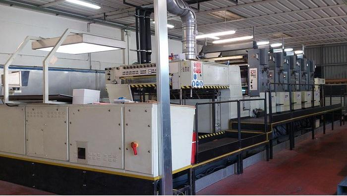 MAN ROLAND GS O VII 8/160 offset machine