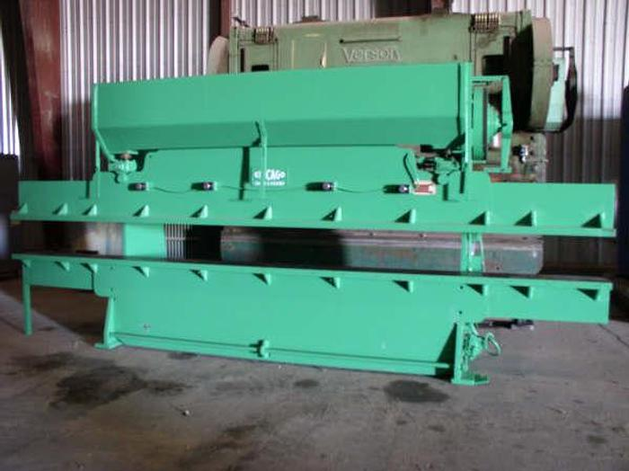 Used 75 ton x 18' DRIES & KRUMP / CHICAGO Model 1012-C Press Brake; S/N L-13581