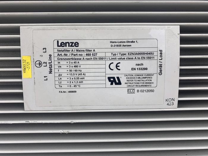 LENZE EZN3AH0055H0450 Mains Filter