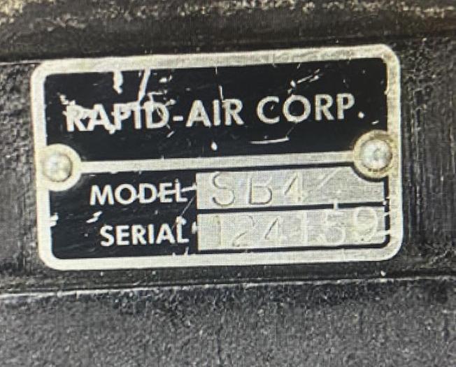 RAPID-AIR MFG SB4