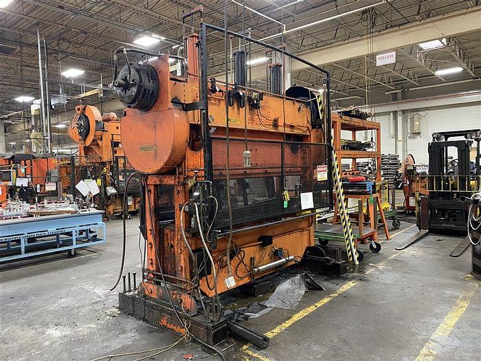 """Used 100 Ton Rousselle SS2-30-100, 3"""" Stroke"""