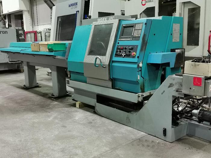 Gebraucht CNC Drehmaschine INDEX ABC