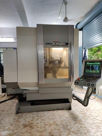 Used Used DECKEL MAHO DMU 50 eVolution Machine Center