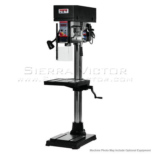 JET JDPE-20EVS-PDF EVS Drill Press with Power Downfeed 354250