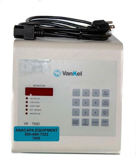 Used Varian Vankel VK 750D, 65-3000 Bath Heat Circulation Controller USED (7605) W