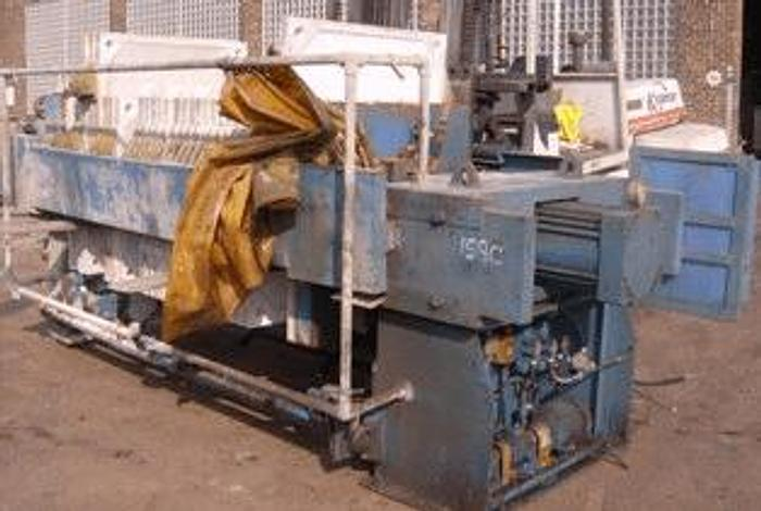Used 25 CU. FT. PERRIN FILTER PRESS – POLYPRO. – 1200 MM – AUTOMATIC CLOSURE – #6891