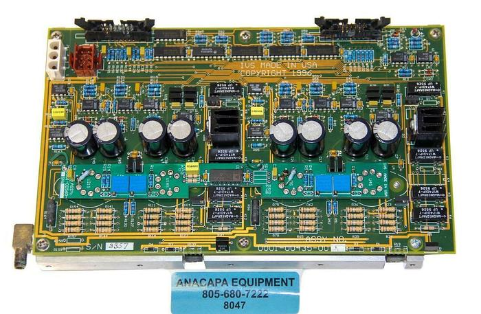 Used IVS 0001-00435-0001 Water-Cooled PCB / Interface Card from IVS 220 CD SEM (8047)
