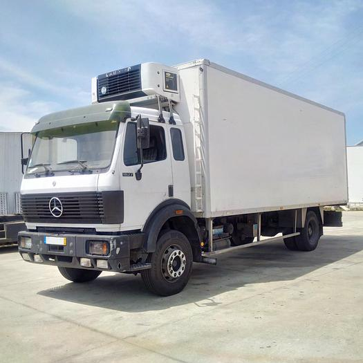 1993 MERCEDES-BENZ 1827 fridge box lorry
