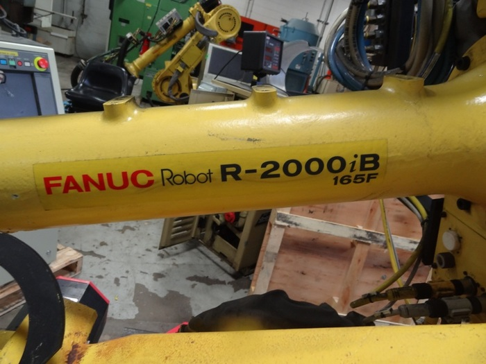 FANUC R2000iB/165F 6 AXIS CNC ROBOT