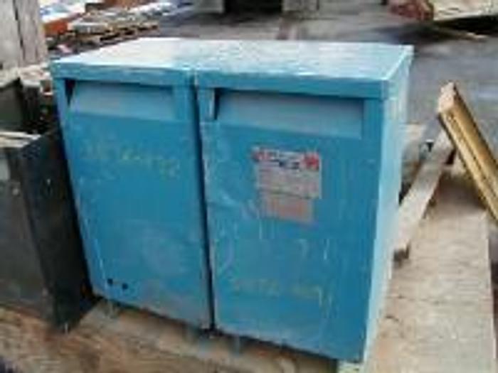 Used 8.5 kVA Olsun dry type transformer, class AA.
