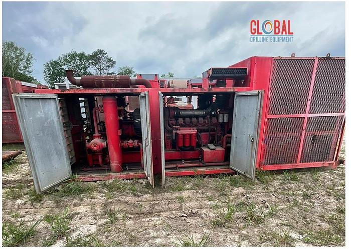 Used Item 0541 : Sullair 900CFM / 350PSI Air Compressor & Ariel JPG/2 Booster Combo